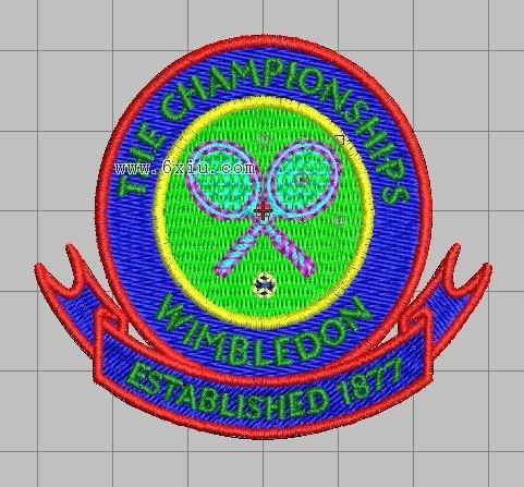 网球标志_网球设计图__其他图标_标志图标_设计图库_昵