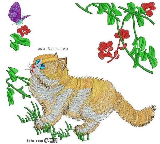 刺绣花纹纹样展示