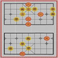 象棋-棋盘-民族风