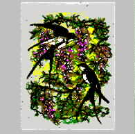 Bird and Swallow Chaotic Needle Embroidery embroidery pattern album