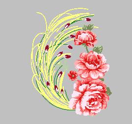 牡丹花-花团锦簇-精品大花传统