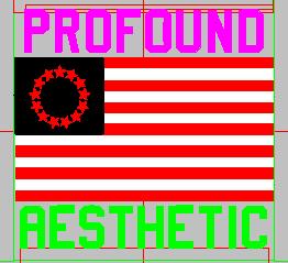 旗帜  章标 美国国旗 profound aesthetic