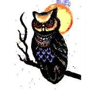 猫头鹰  乱针绣精品