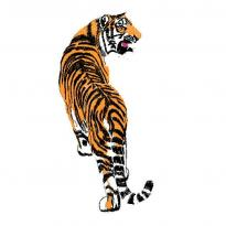 Tiger Shangshan Tiger Exquisite embroidery pattern album