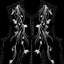 Front of Women's Fashionembroidery designs download