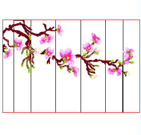 Background wall Magnoliaembroidery designs download
