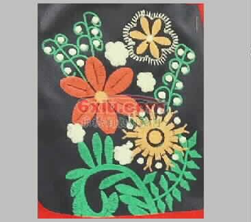 Pretty flower embroidery pattern album