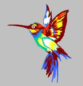 bird embroidery pattern album