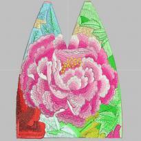 Ethnic flowers, Miao nationality, beautiful flowers embroidery pattern album