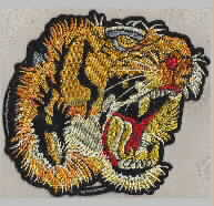 Tiger head tiger male embroidery pattern album