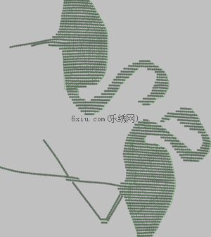 The Pearl Crane is auspicious embroidery pattern album
