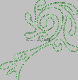 Auspiciousness and Abstraction embroidery pattern album